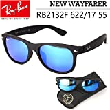 Ray-Ban ウェイファーラー レイバン サングラス ニューウェイファーラー RB2132F 622/17 55 ミラーレンズ メンズ レディース Ray-Ban New WAYFARER