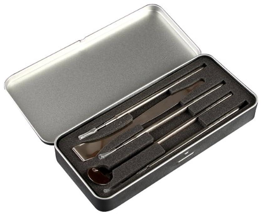 どきどき爵ダニNIKKEN ニッケン刃物 5p デンタルツールセット(ステンレス製) DT-5000