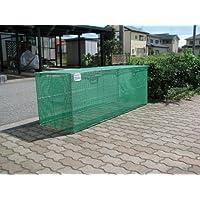 折り畳み式ゴミ収集箱W1800D600H650 (ステンレス)