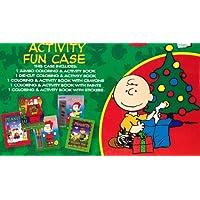 Peanuts ( Charles Schultz ) ChristmasアクティビティFun set- 6カラーリングandアクティビティブック、8 Paints , and 8クレヨン