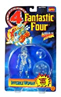 1995 Fantastic Four 4 Invisible Woman Error Packaged As Human Torch Action Figure Rare by Marvel Comics