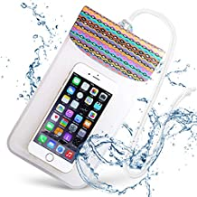 EXCASE waterproof case neck [corresponding smartphone up to 19x11.5cm] strap with IP6X ? IPX8 standard iPhone Xperia AQUOS underwater photography Bathing hot springs sea swimming Marine Sports | Aboriginal