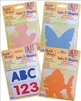 Baby Buddy BB safe-t-shapesアップリケAssorted色–ケースof 40