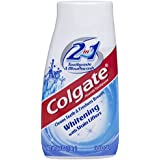 海外直送品Colgate 2 In 1 Toothpaste & Mouthwash Whitening, 4.6 oz by Colgate