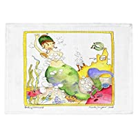 DiaNoche Designs PM-MarleyUngaroBathing2 Place Mats Set of 4 Placemats 4 Piece [並行輸入品]