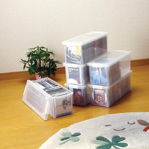 マックスジャパン CD&DVD収納ケース クリア 1530021