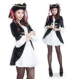 パーティーフリークGO!GO! キレイめ パイレーツ 海賊 ミニ ワンピ コスプレ 衣装 a355