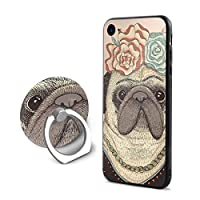 BerryeE IPhone 8 / IPhone 7 ケース リング付き フロッグ アイフォン シリコン 衝撃防止 高級感 薄型 携帯カバー 人気NO.1 男女兼用