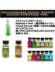 アンシェントメモリーオイル Millionaire Mind 億万長者マインド ブレンド【Good Fortune グッドフォーチュン 幸運&てんびん座】