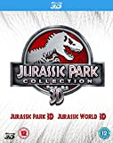 Double Pack: Jurassic Park 3D + Jurassic World 3D [Blu-ray] [2015]