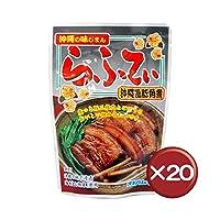 沖縄の味じまん らふてぃ(ラフテー) ゴボウ入り 165g 20袋セット