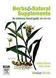 Herbs and Natural Supplements: An Evidence-Based Guide, 3e 画像
