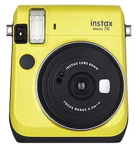 FUJIFILM インスタントカメラ チェキ instax mini70 イエロー INS MINI 70 YELLOW