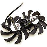 PLD09210D12HH DC12V 0.40A 85mm 適合機種: XFX R9 380 280X 270X 290X グラフィックスカード冷却ファン 4ピン