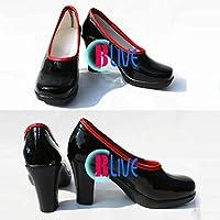 ●●サイズ選択可●●I0331ZCI コスプレ靴 ブーツ VOCALOID3 EXIT TUNES MAYU マユ 女性23CM