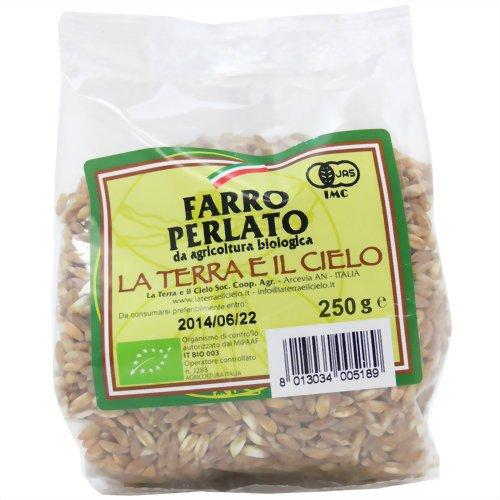 有機栽培 ファッロペルラート(スペルト小麦) 250g