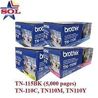 Brother tn-115bk / tn115bkトナー–DCP MFCプリンタトナー(OEM/HL /ブラック)