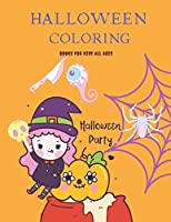 Halloween Coloring Books for kids all ages: A Spooky Coloring Book For Creative Children : Jumbo Pages
