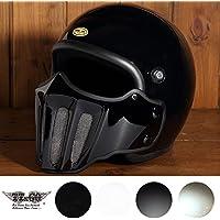 マッドマッスク J02 ローマン ジェットヘルメット ブラック SG/PSC規格品