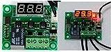DC12V 温度センサー 付 サーモスタット サーモ スイッチ 昆虫飼育 ペット 温度制御 デジタル 温度計 日本語使用説明書付 オリジナル パッケージ