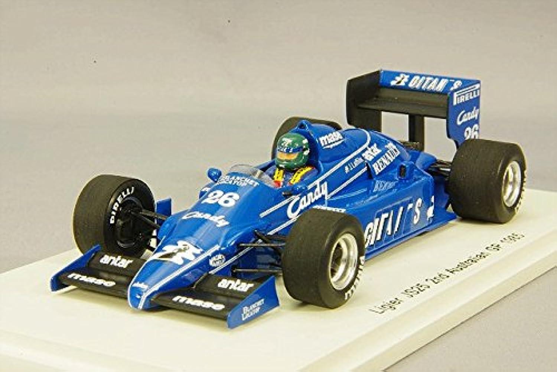 1/43 リジエ JS25 No.26 2nd Australian GP 1985 Jacques Laffite