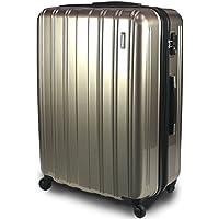 【新品アウトレット商品】 【SUCCESS サクセス】 スーツケース 3サイズ( 大型 ・ ジャスト型 ・ 中型 ) TSAロック 搭載 超軽量 レグノライト2020~ ミラー加工 キャリーバッグ …