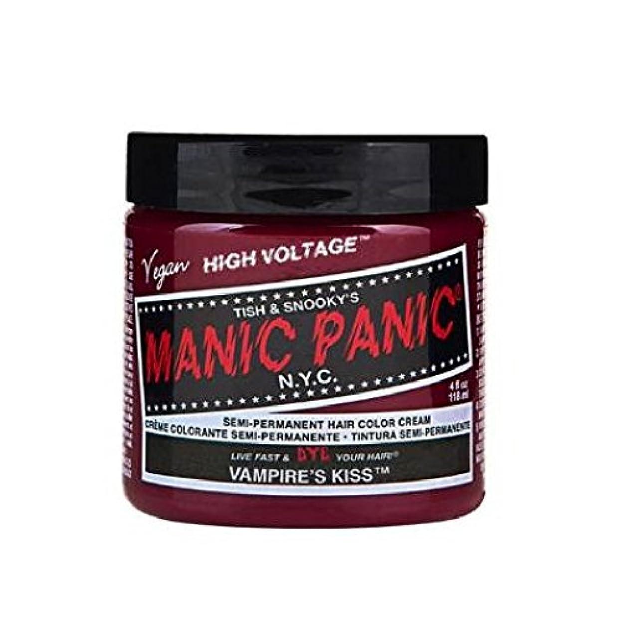 ブロー汚物慣れるMANIC PANIC マニックパニック 118ml Vampires Kiss ヴァンパイアズキッス MC11042