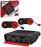 スーパーレトロトリオ【レッド/ブラック】Super Retro TRIO NES/SNES/Genesis 3in 1 System