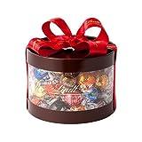 リンツ (Lindt) チョコレート リンドール ギフトボックス 9種50個入り ショッピングバッグL付