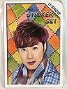 YUNHO ユンホ - U-Know ユノ - 東方神起 TVXQ グッズ / フォト ステッカー シール 87枚(16シート)セット - Photo Sticker 87pcs(16sheets) TradePlace K-POP 韓国製