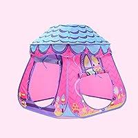 Lian Children Play Tent折りたたみGame House海洋ボールプール屋内と屋外マッシュルームトンネル(ブルー、パープル、イエロー878788 CMのパックの1 ) パープル 14701