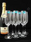オーシャン シャンパングラス フルートシャンパン 210ml マディソン 1015F07 6個セット 画像