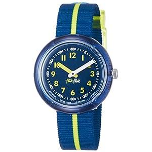 [フリック フラック]FLIK FLAK 腕時計 YELLOW BAND (イエロー・バンド) Power Time 5+キッズ ボーイズ FPNP023 カラー・ブロック 【正規輸入品】 FPNP023 ボーイズ 【正規輸入品】