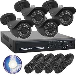 【SKY Electronics】 防犯カメラ 監視カメラ 屋外 録画 4台 セット [3年保証] SET-A101g
