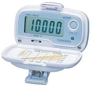 山佐(YAMASA) 万歩計 万歩 振り子式 腰装着タイプ ラベンダーシルバー MK-365LS