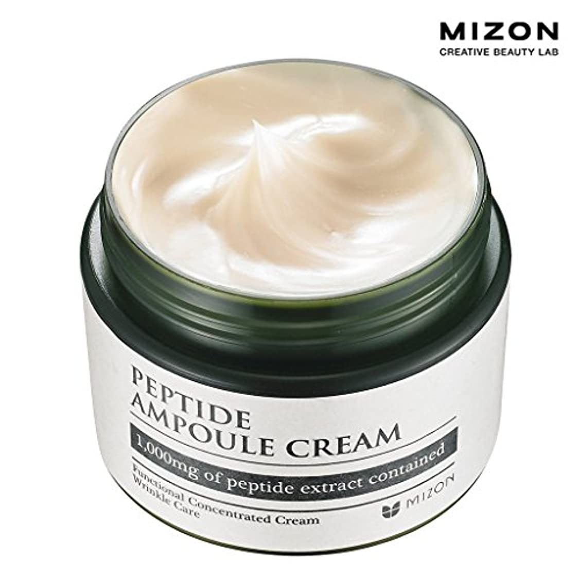 香港クッション衝突MIZONミズオン Peptide Ampoule Cream 50ml ペプチドアンプルクリーム [韓国直送品]