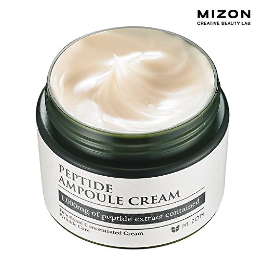 リサイクルする護衛申請者MIZONミズオン Peptide Ampoule Cream 50ml ペプチドアンプルクリーム [韓国直送品]