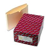 "Smead製品–SmeadファイルジャケットW / double-ply & 1–1/ 2""拡張、Ltr、11pt。マニラ、50/ボックス–Sold As 1ボックス–Gr.."