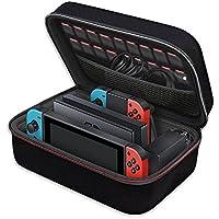 Nintendo Switch ケース iVoler ニンテンドースイッチ 大容量 収納 バッグ 全面保護 便利 まるごとバック ブラック