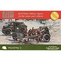 Plastic Soldier Company - World War II British 25pdr & CMP Tractor (1/72) (WW2G20007)