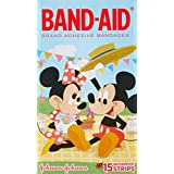 Band-Aid Character Strips Mickey Mouse 15 Count