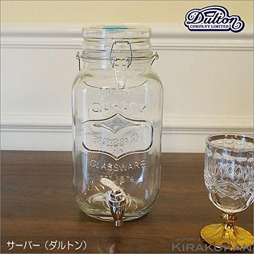 DULTON ダルトン【ビバレッジサーバー アイヴィー(蛇口付き保存瓶)】