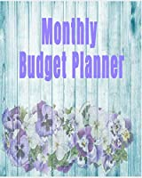 Monthly Budget Planner: Budget Planner and Bill Organizer. Budgeting Planner Workbook. Non dated Yearly Monthly Weekly and Daily Expense Tracker Notebook Journal with Debt Tracker and Credit Card log.Saving tracker with Check log.
