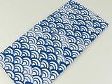 日本手ぬぐい 青海波柄 日本製