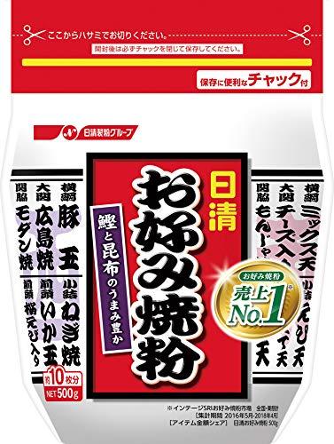 日清 お好み焼粉 500g×3袋