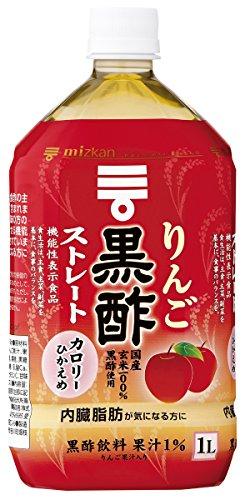 ミツカン りんご黒酢ストレート 1L