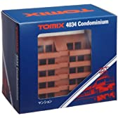 TOMIX Nゲージ マンション 4034 鉄道模型用品