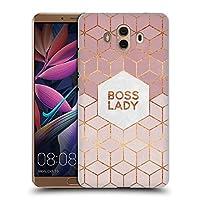 オフィシャルElisabeth Fredriksson Boss Lady タイポグラフィ ハードバックケース Huawei Mate 10