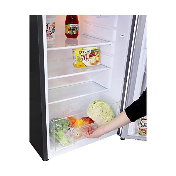 エスキュービズム 2ドア冷蔵庫 WR-2118...の紹介画像5