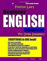 Preston Lee's Beginner English Lesson 1 - 20 For Urdu Speakers